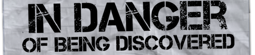 In Danger of Being Discovered Logo